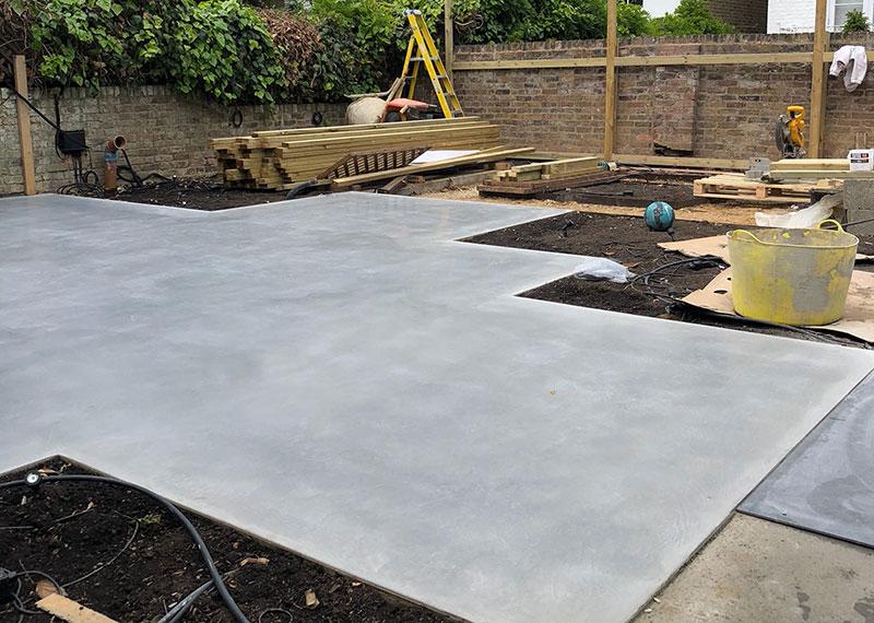 HTC Bronze polished paste concrete