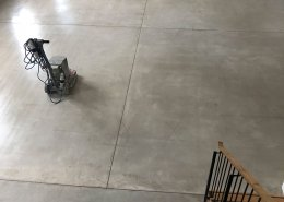 HTC Gold Salt and Pepper polished concrete