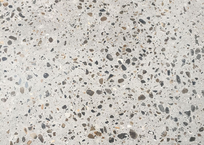 HTC Platinum Exposed Aggregate Polished Concrete