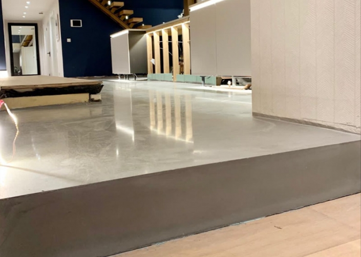 Polished Concrete CTS TRU topping