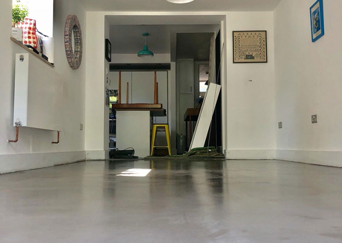Polished Concrete Restoration