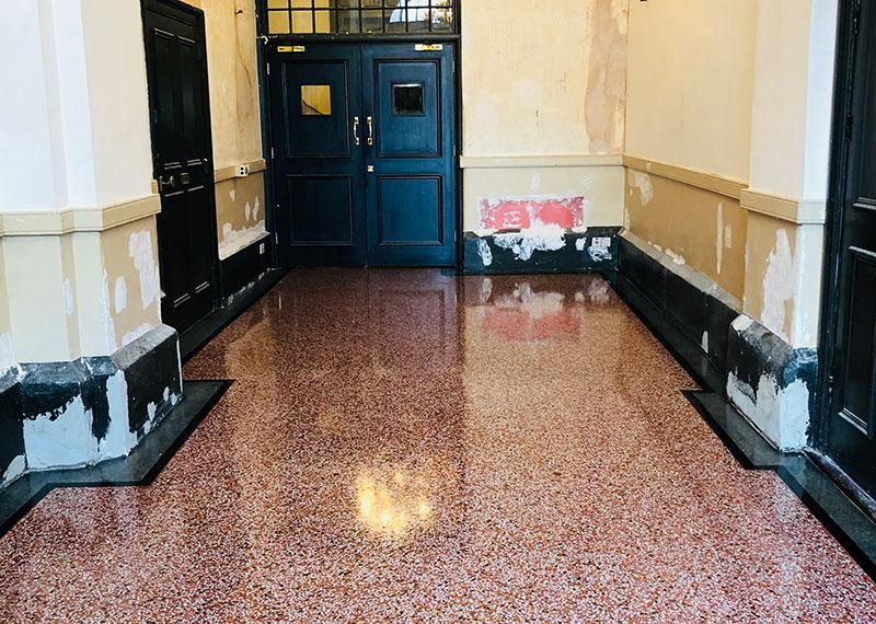 Polished Concrete Restoration