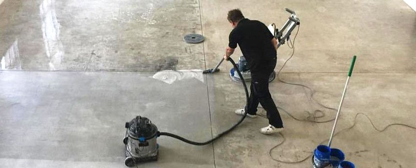How to clean polished concrete floors professional - Cleaning interior concrete floors ...