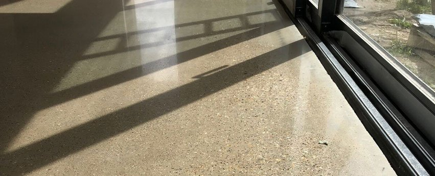 polished concrete in Cambridge