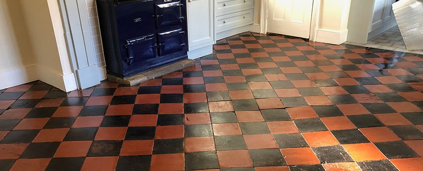 Quarry Tile Floor in Cambridge