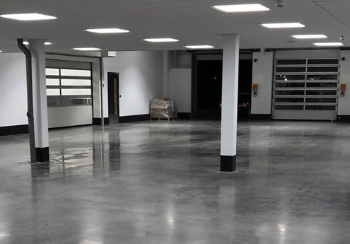Case Study – Polished Concrete Floor for Car Showroom in Bristol