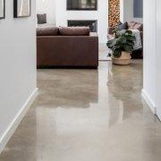 polishing existing concrete floors