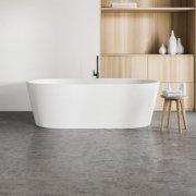 Polished Concrete Bathroom Floor