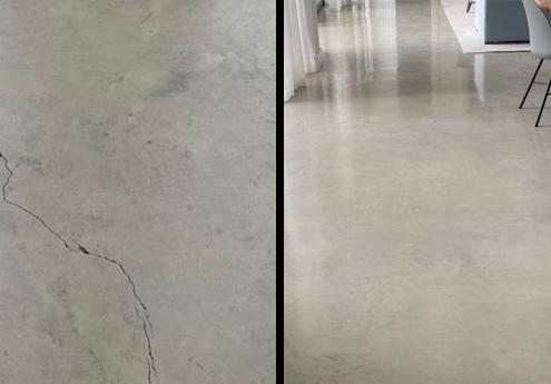 Cracks in Polished Concrete Floors